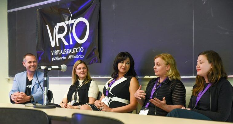 Business and Marketing with Virtual Reality and Augmented Reality at VRTO 2017 Conference in Toronto, featuring Alan Smithon, moderator