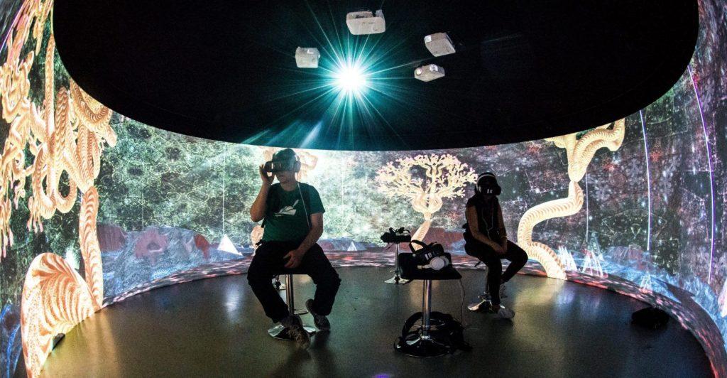 FIVARS in Igloo Vision theater at VRTO 2018